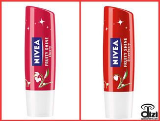 NIVEA Fruity Shine Çilek ve Kiraz..!